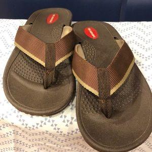 Okabashi Indigo classic flip flop Large